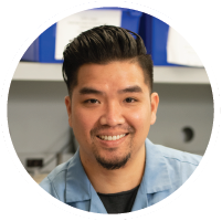 Piseth Khuon, lead R&E tech